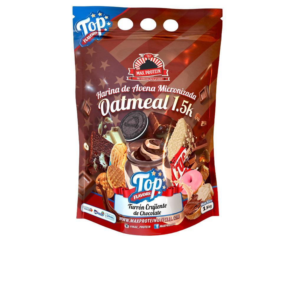 OATMEAL TOP FLAVORS #turrón crujiente de chocolate