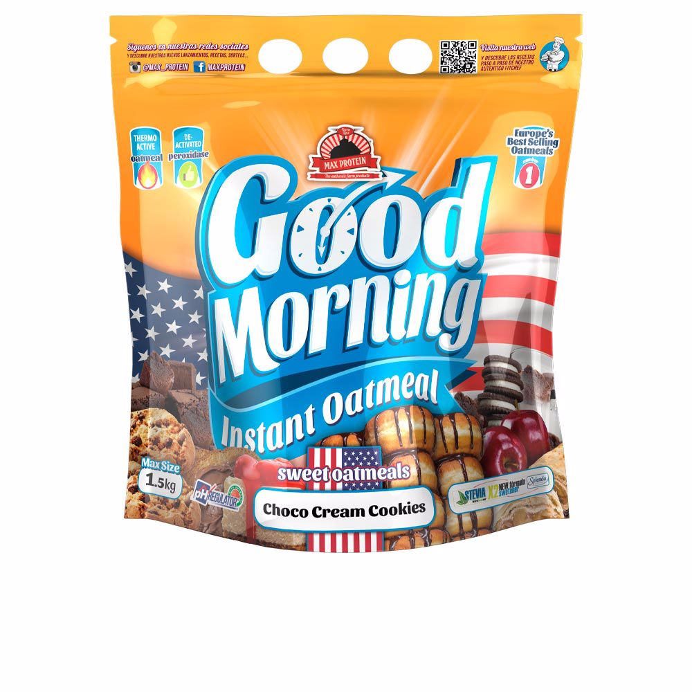 GOOD MORNING INSTANT® harina avena #choco cream cookies
