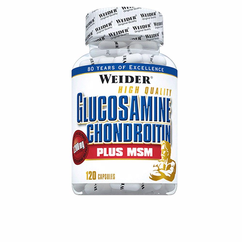 GLUCOSAMINE CHONDROITINE + MSM caps