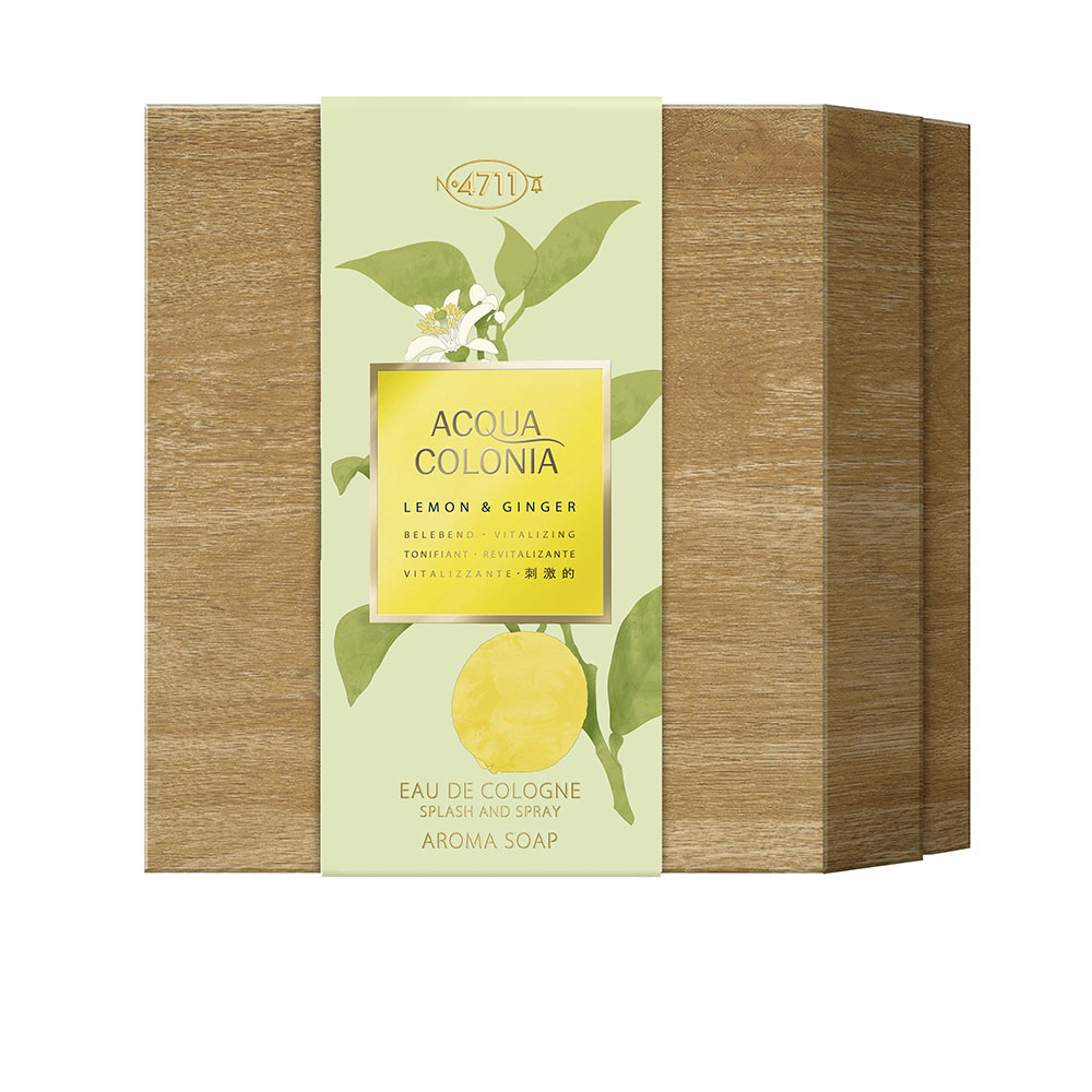 ACQUA COLONIA LEMON & GINGER SET