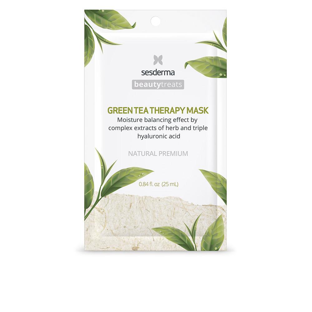 BEAUTY TREATS green tea therapy mask