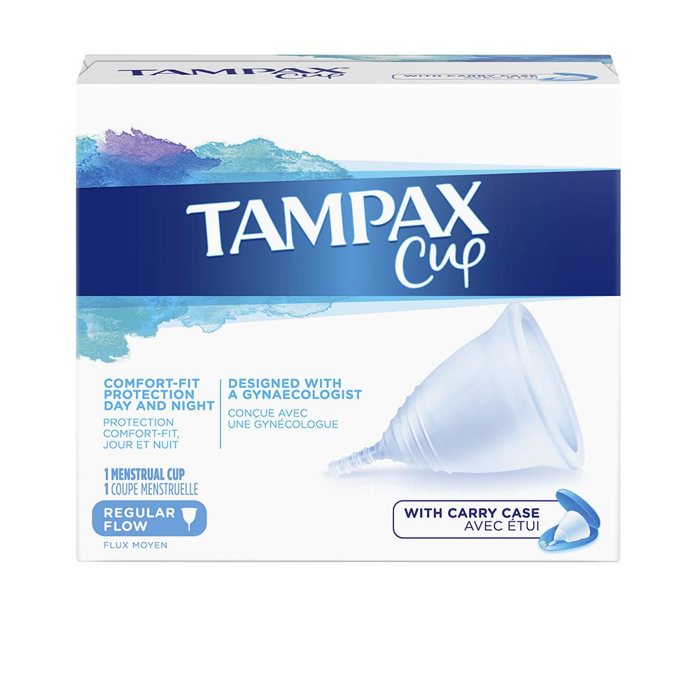 TAMPAX COPA flujo menstrual regular