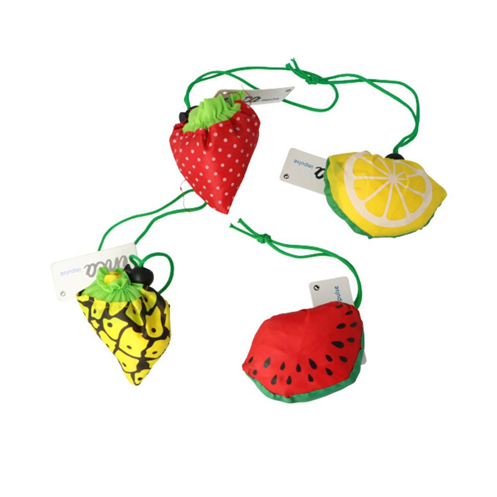 BOLSA COMPRA PLEGABLE diseño frutas