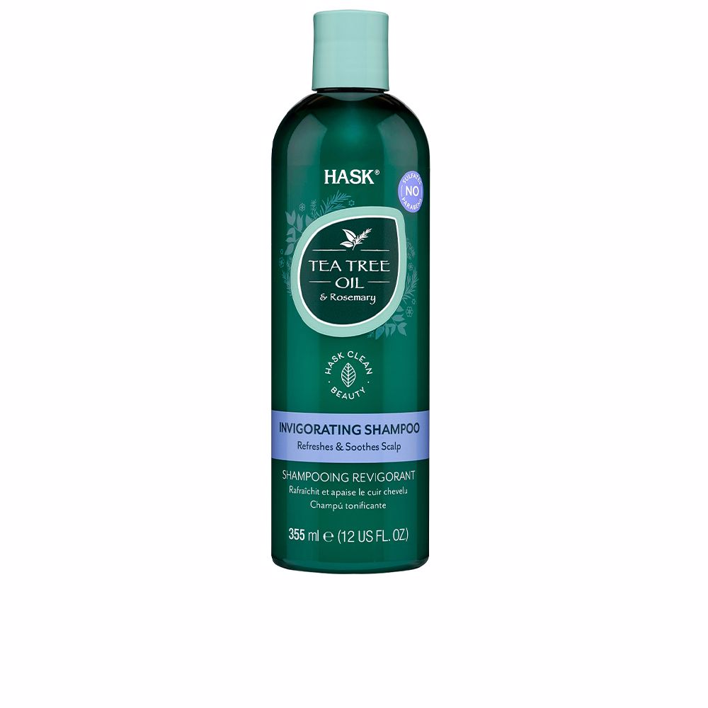 TEA TREE & ROSEMARY invigorating shampoo