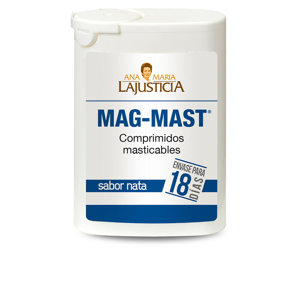 MAG-MAST cápsulas masticables #sabor nata