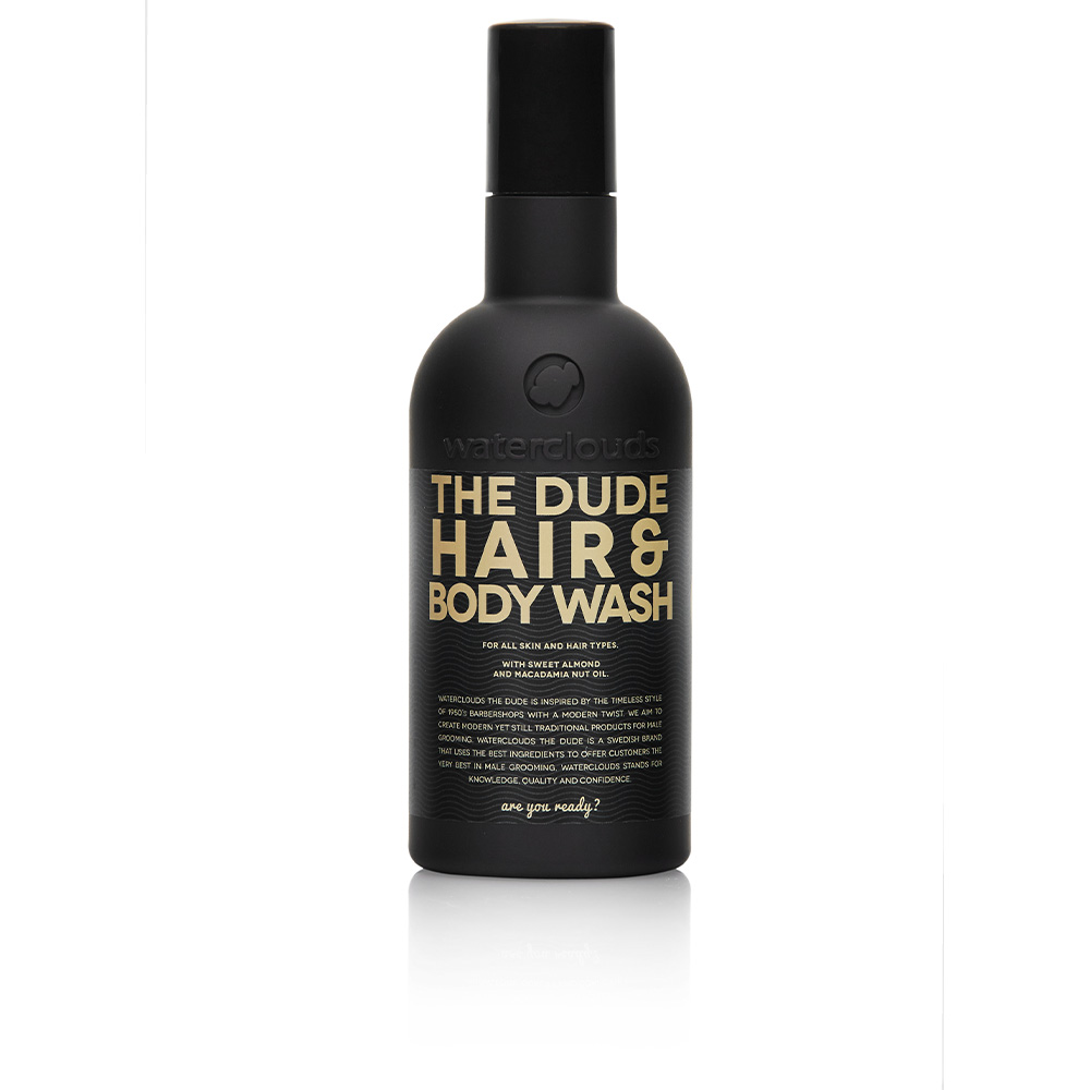 THE DUDE HAIR & BODY WASH for all skin & hair types