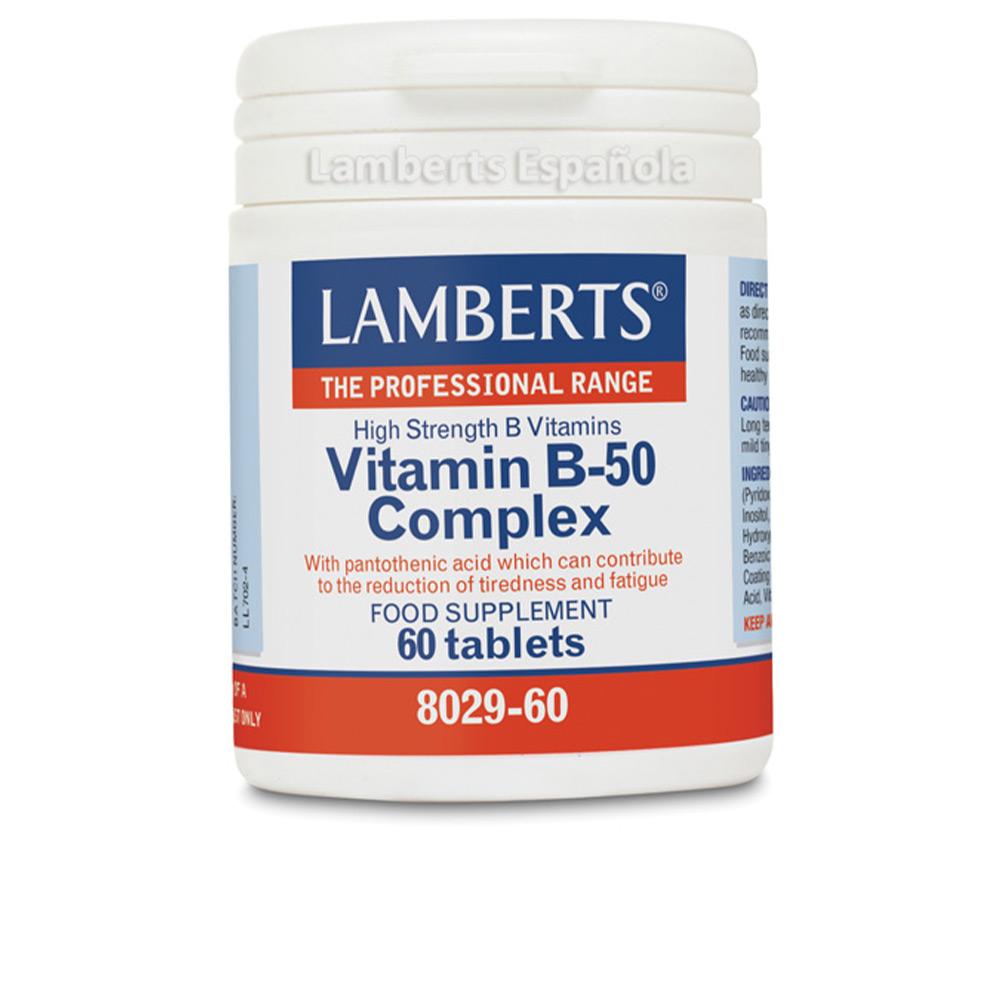 COMPLEJO DE VITAMINAS B-50 cápsulas