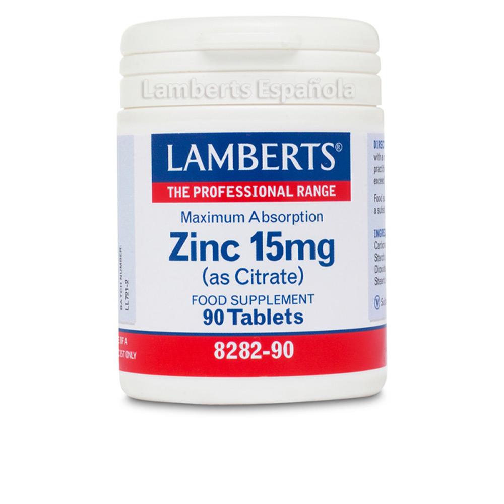 ZINC 15mg cápsulas