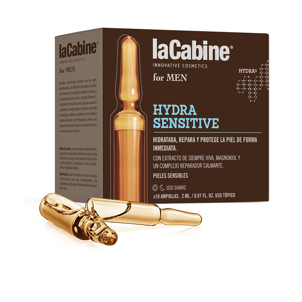 LA CABINE FOR MEN ampollas hydra sensitive