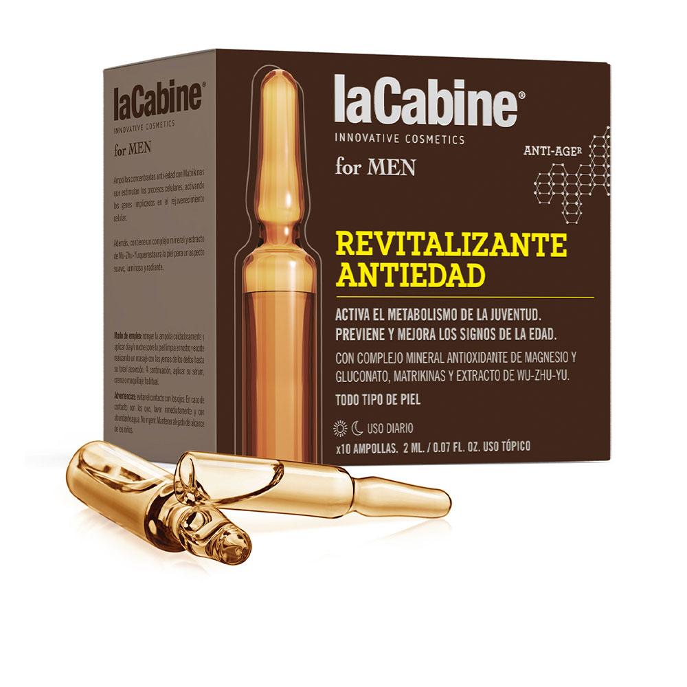 LA CABINE FOR MEN ampollas revitalizante anti-edad