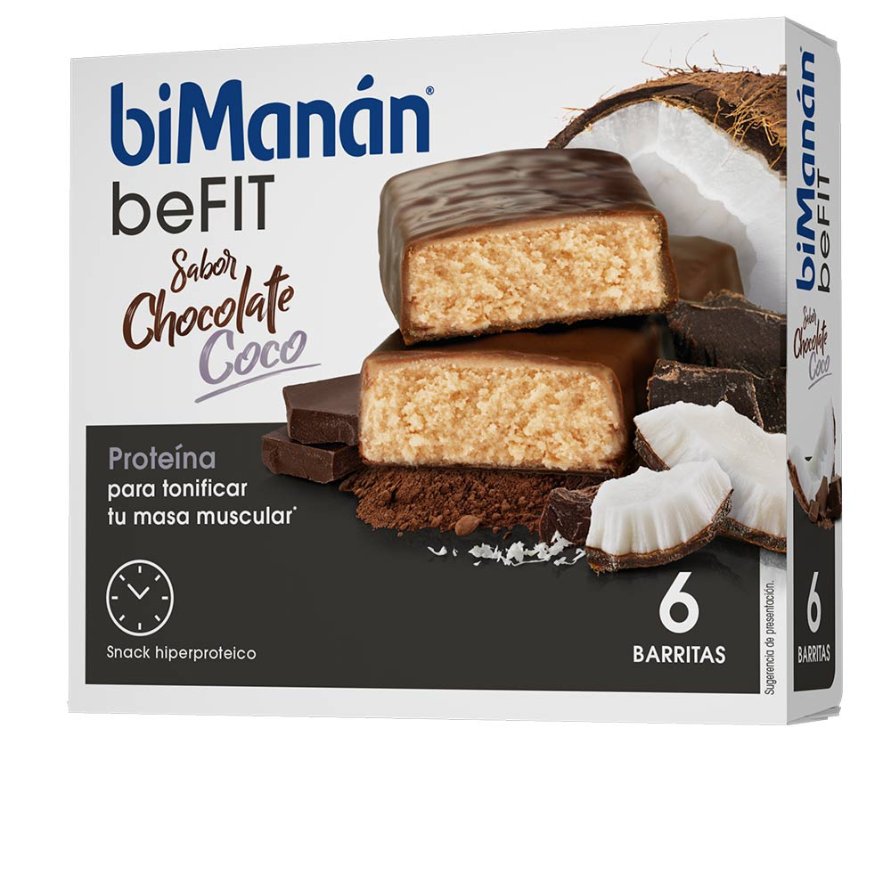 BE FIT barritas #choco-coco