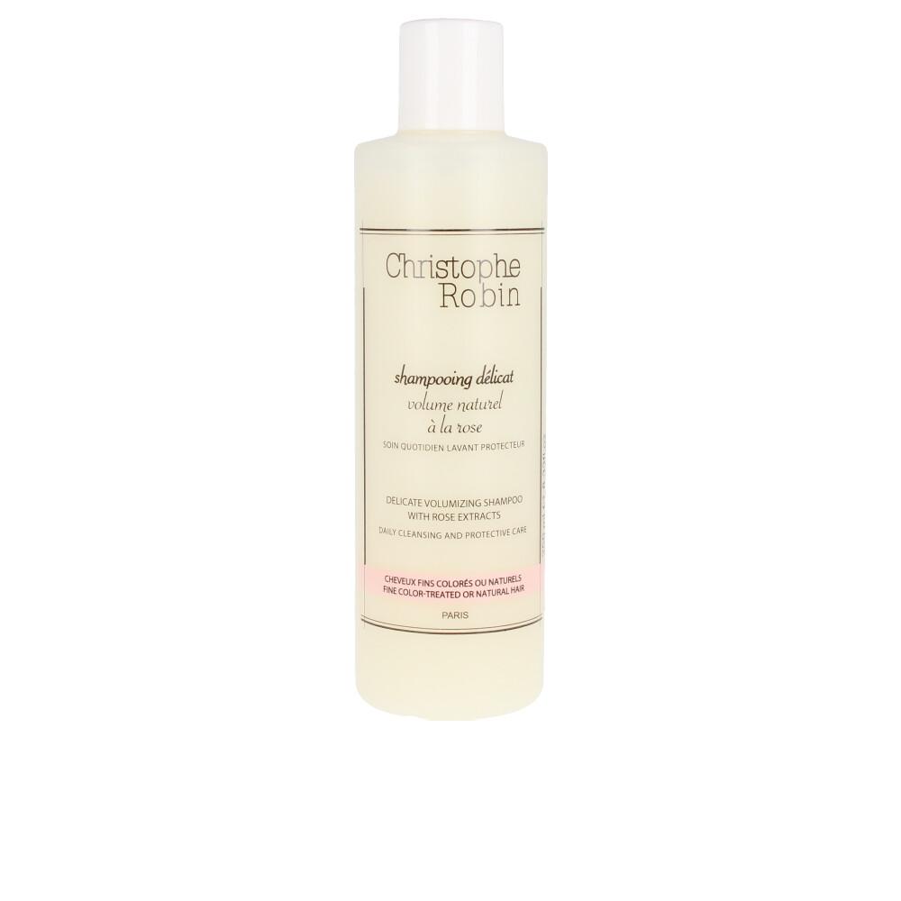 VOLUMIZING shampoo with rose extracts