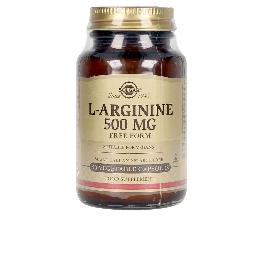 L-ARGININA 500 mg cápsulas vegetales