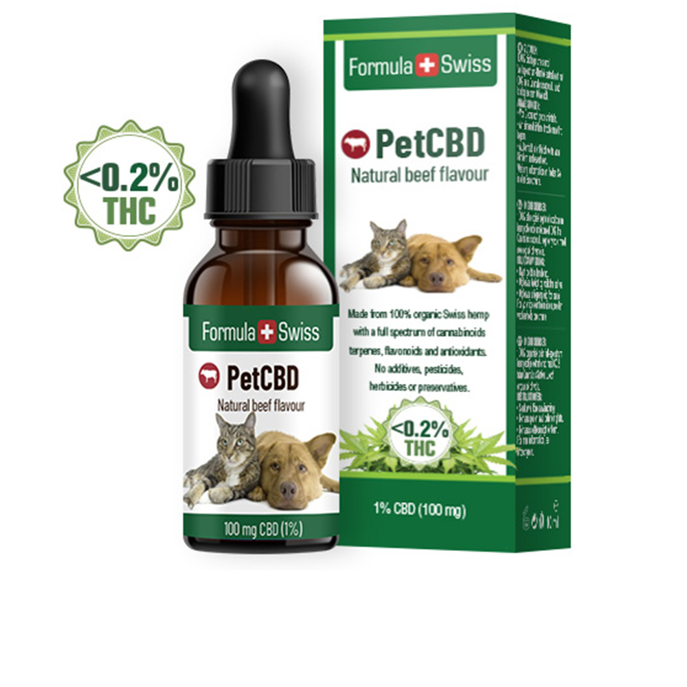 PETCBD natural beef flavour 100mg CBD <0,2% THC