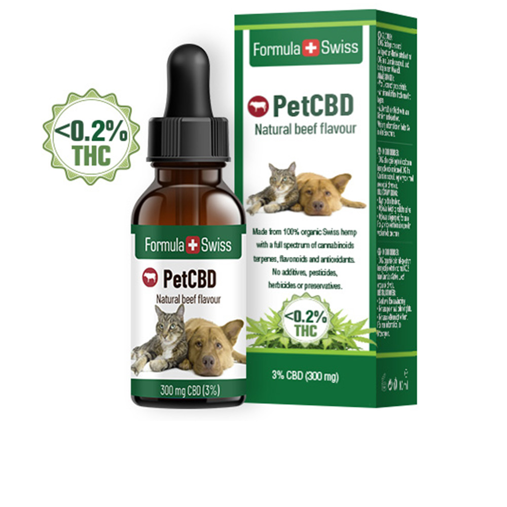 PETCBD natural beef flavour 300mg CBD <0,2% THC