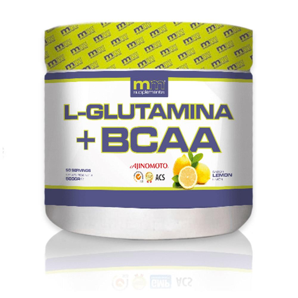 GLUTAMINA + BCAA #lemon