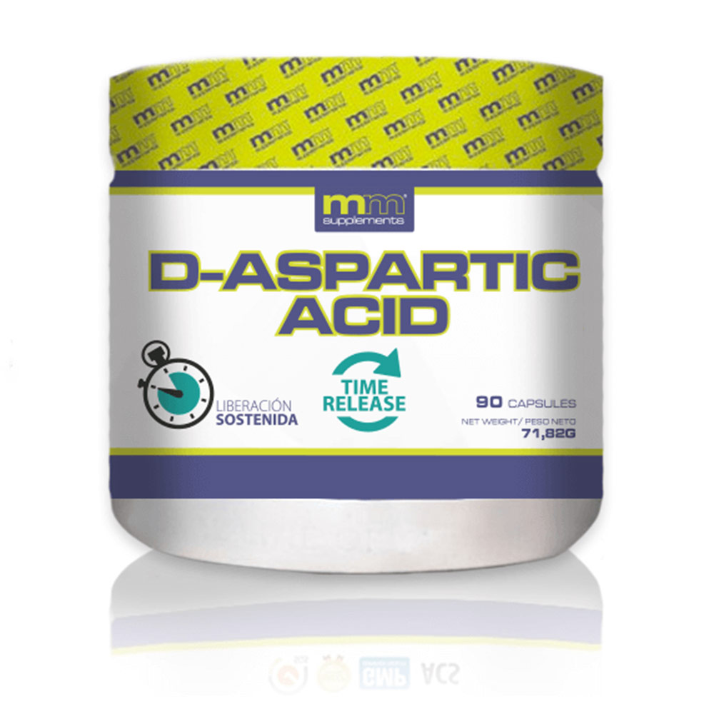 D-ASPARTIC acid cápsulas