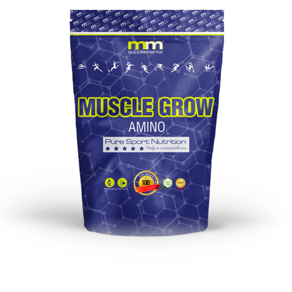MUSCLE GROW amino #fruit punch