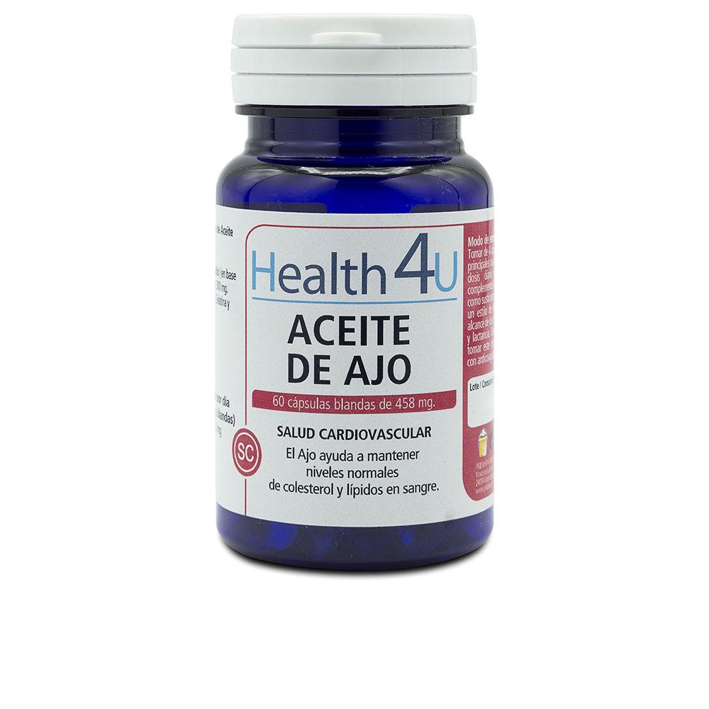 H4U aceite de ajo cápsulas blandas de 458 mg