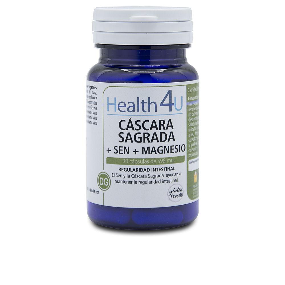 H4U cáscara sagrada + sen + aloe cápsulas de 515 mg