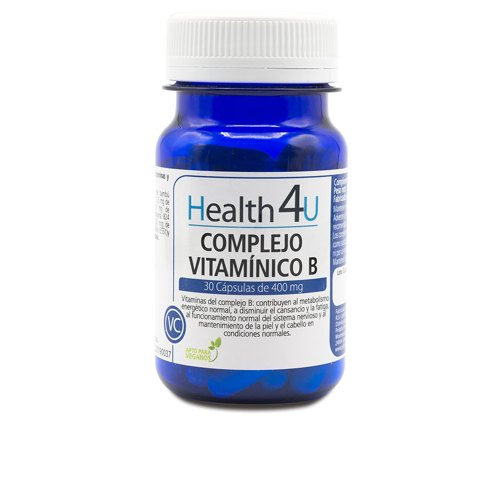 H4U complejo vitamínico B cápsulas de 400 mg