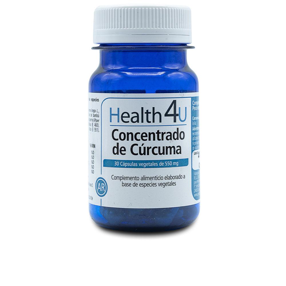 H4U concentrado de cúrcuma cápsulas vegetales de 550 mg