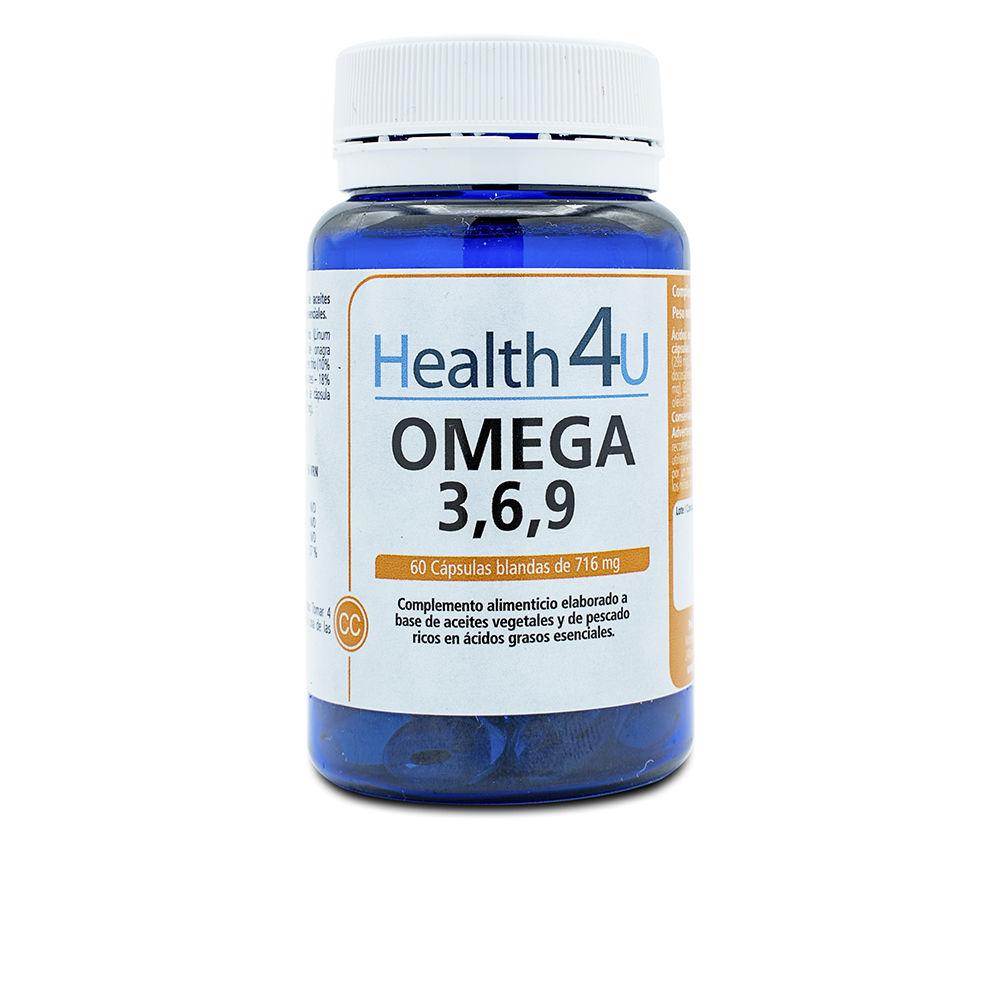 H4U omega 3, 6, 7 y 9 cápsulas blandas de 658,2 mg