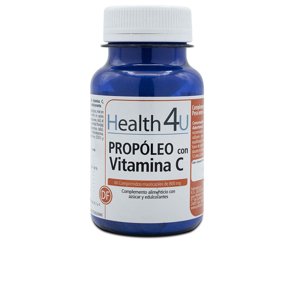 H4U propóleo con vitamina C comprimidos masticables 800 mg