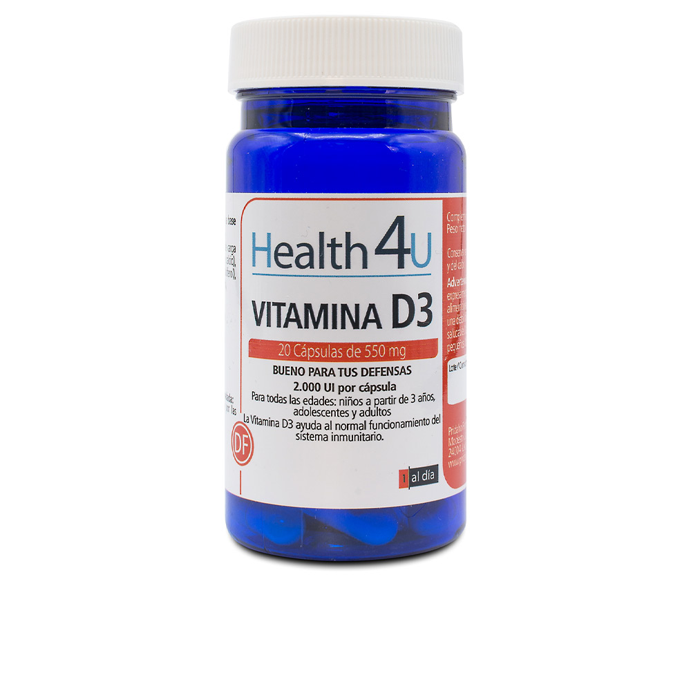 H4U vitamina D3 cápsulas de 550 mg