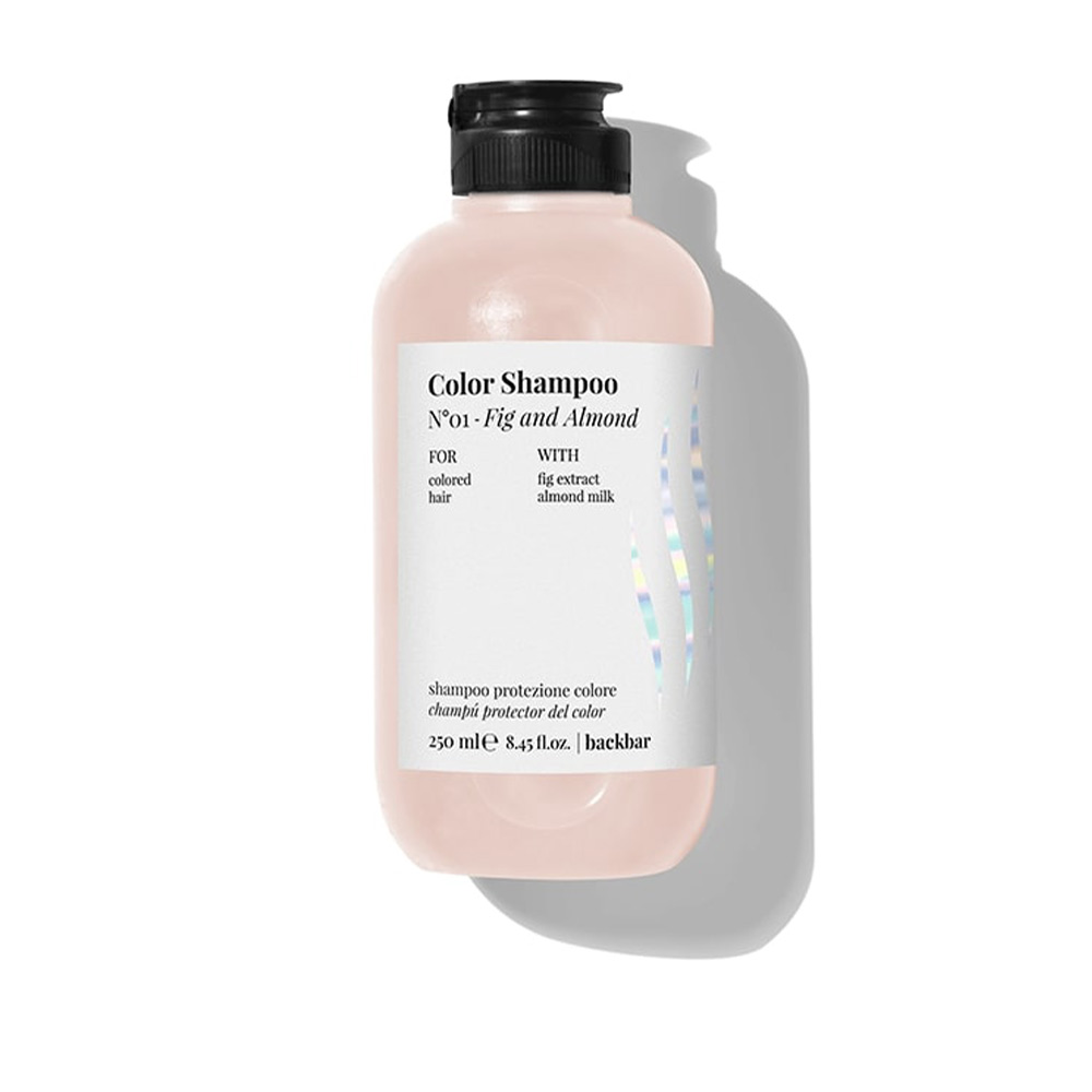 BACK BAR color shampoo nº01-fig&almond