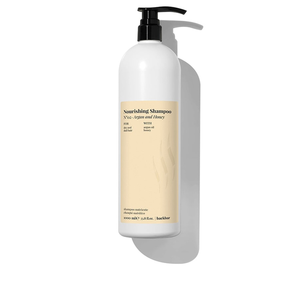 BACK BAR nourishing shampoo nº02-argan&honey