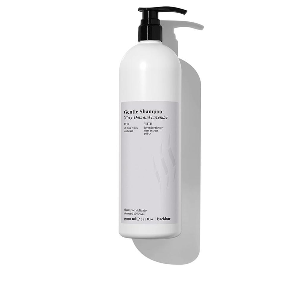 BACK BAR gentle shampoo nº03-oats&lavender