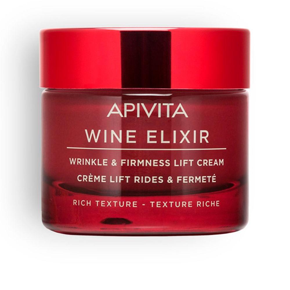 WINE ELIXIR wrinkle & firmness lift cream rich texture