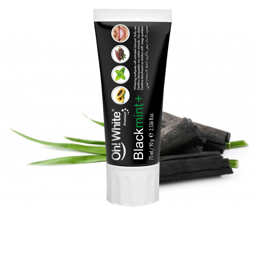 BLACKMINT+ dentífrico blanqueador con carbón
