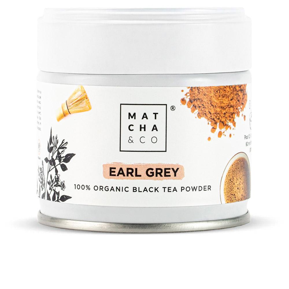 EARL GREY black tea powder
