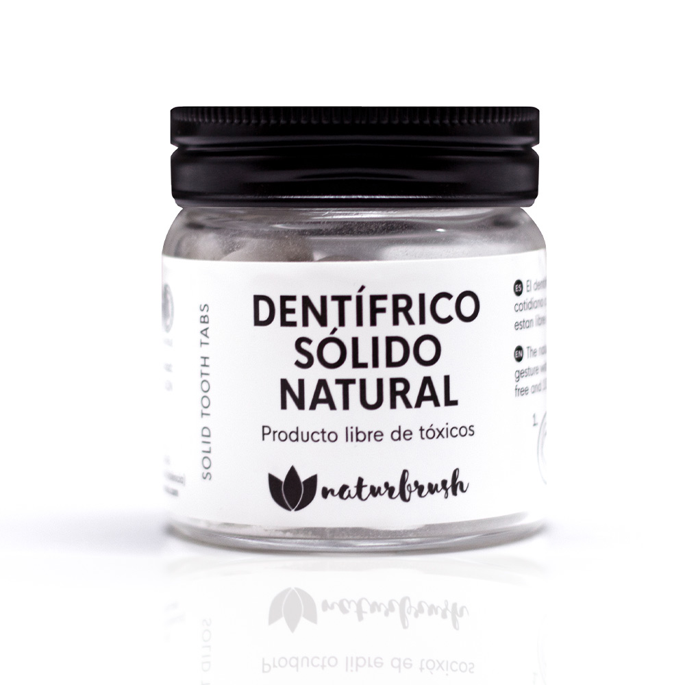 DENTÍFRICO SÓLIDO NATURAL tabletas