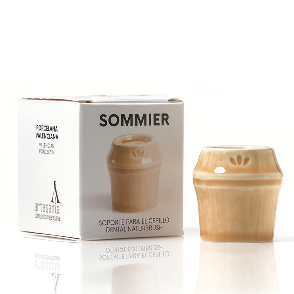 SOMMIER soporte para cepillo dental #natural