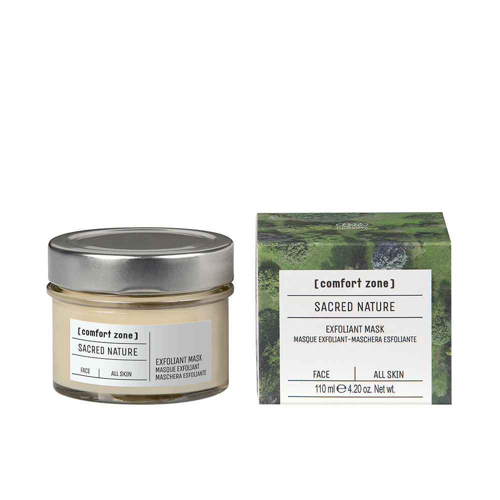 SACRED NATURE exfoliant mask