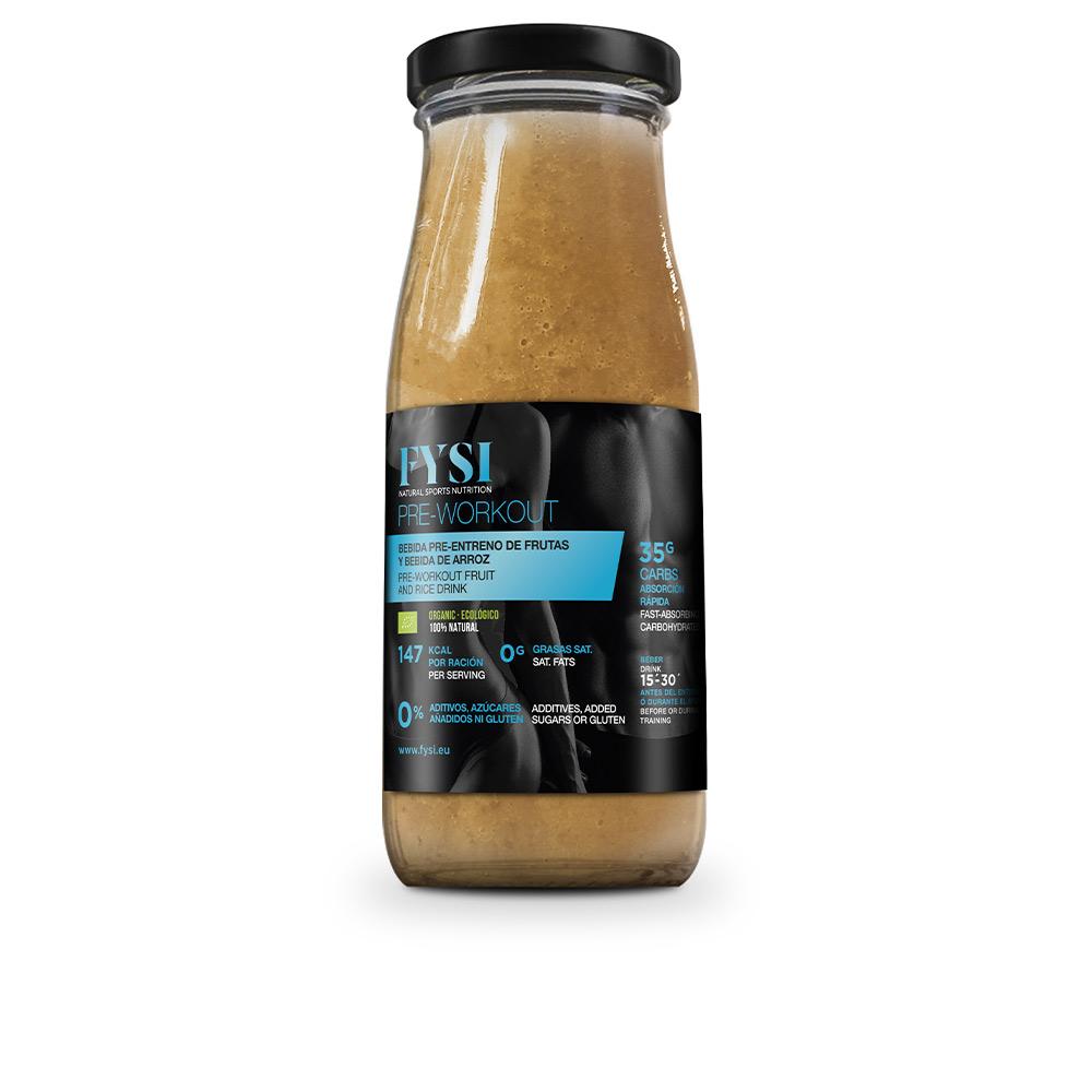Bebida PRE-ENTRENO de frutas y bebida de arroz 250 ml