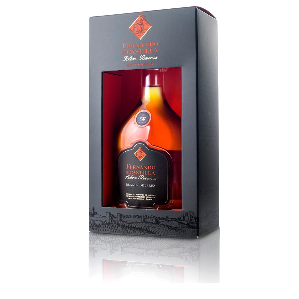 SOLERA RESERVA brandy de Jerez 15 años