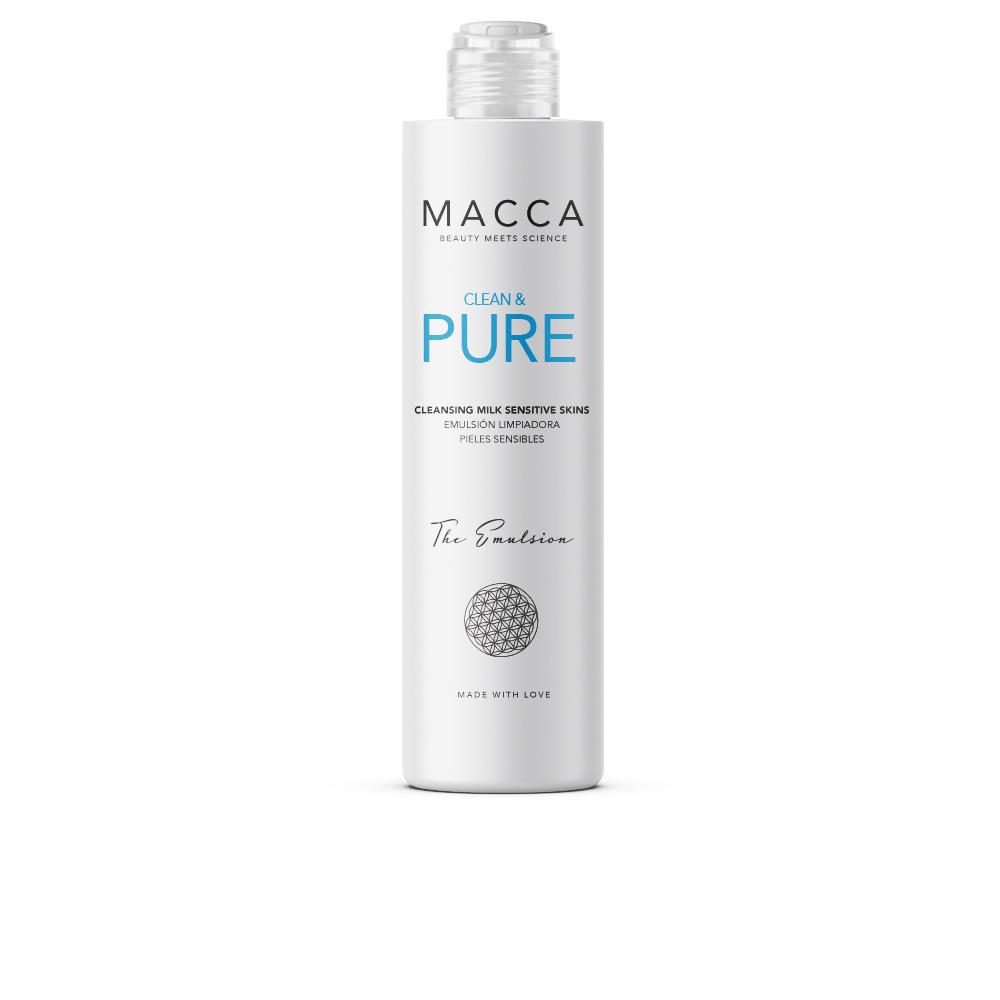 CLEAN & PURE cleansing milk sensitive skins