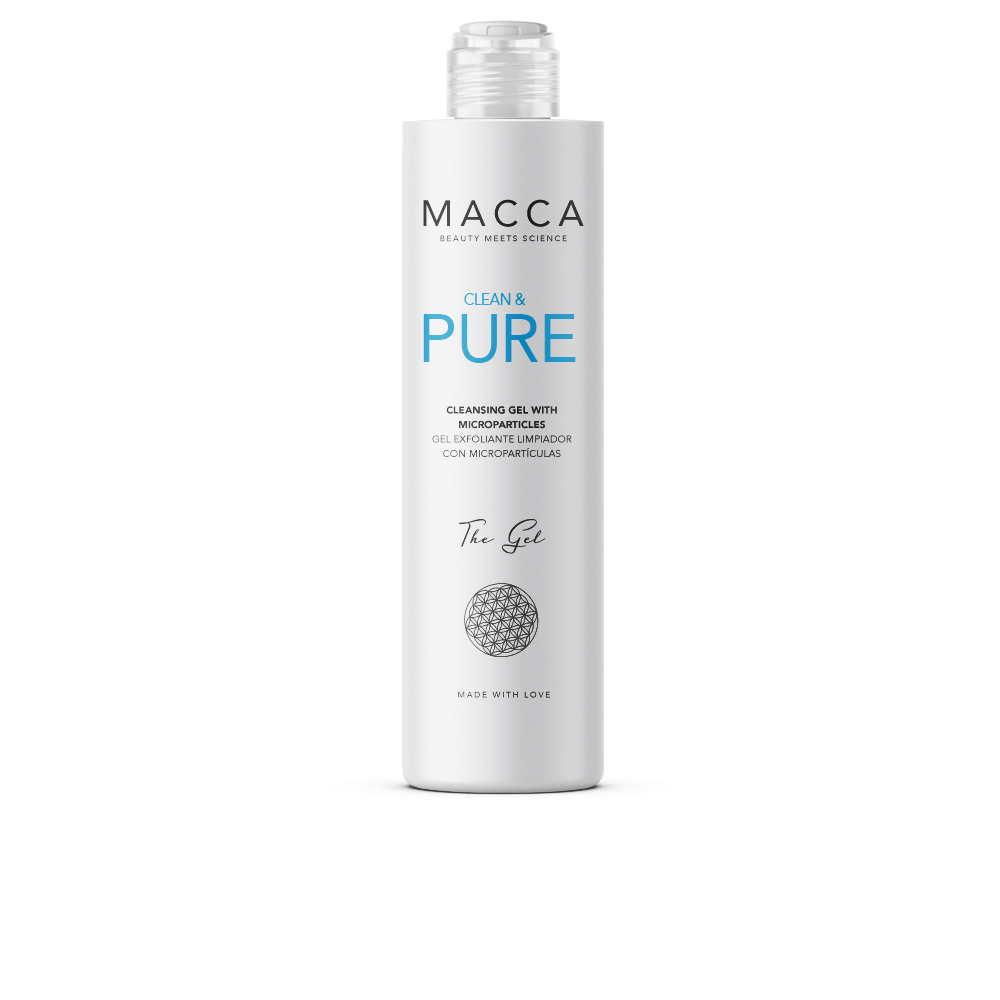 CLEAN & PURE cleansing gel with microparticles