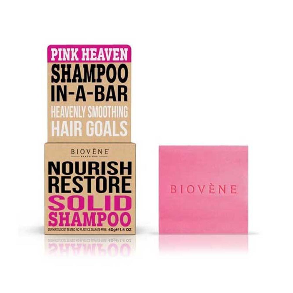 PINK HEAVEN NOURISH RESTORE solid shampoo bar