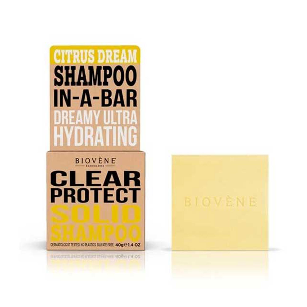 CITRUS DREAM CLEAR PROTECT solid shampoo bar