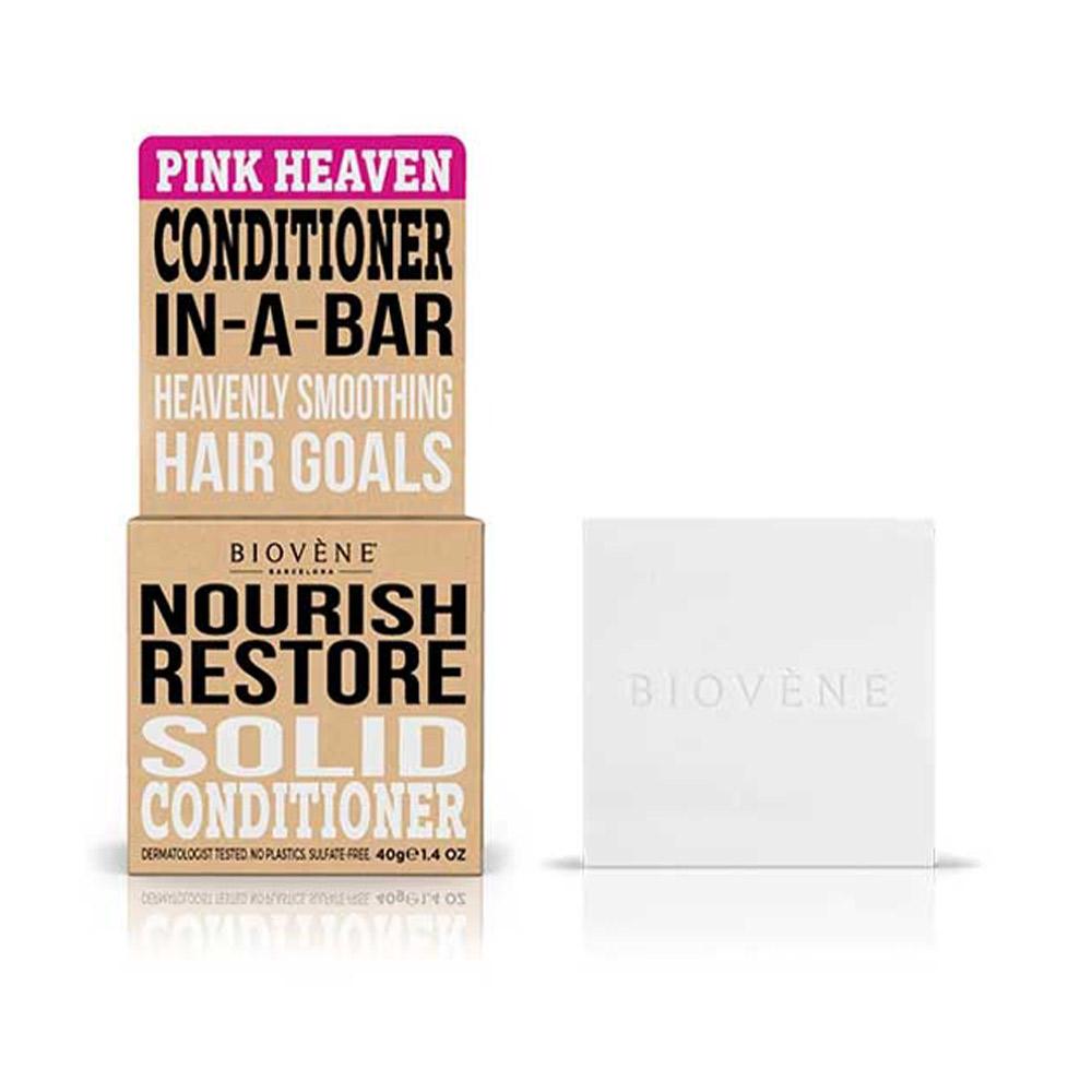 PINK HEAVEN NOURISH RESTORE solid conditioner bar