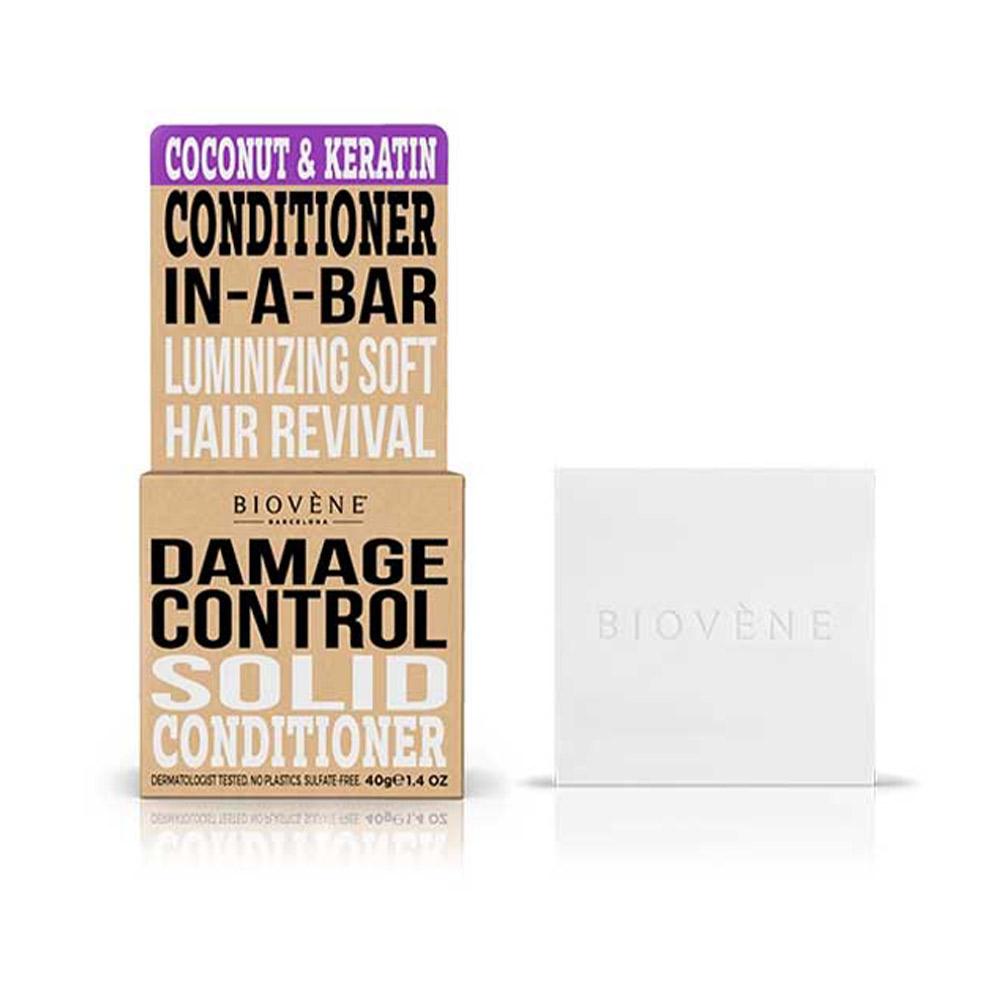 COCONUT&KERATIN DAMAGE CONTROL solid conditioner bar