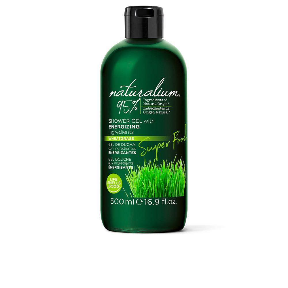 SUPER FOOD wheatgrass energizing shower gel