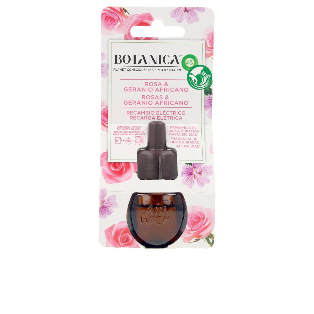 BOTANICA ambientador eléctrico recambio #rosa & geranio