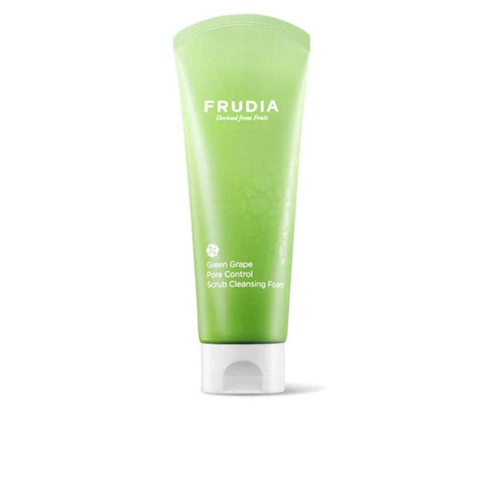 GREEN GRAPE pore control scrub cleansing foam