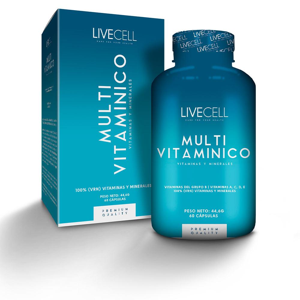 MULTI VITAMÍNICO vitaminas &minerales cápsulas